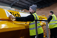 2020 12 22 Council names its gritting fleet after local celebrities, Neath Port Talbot, Wales, UK