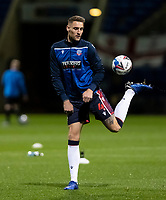Bolton Wanderers' George Taft warming up before the match <br /> <br /> Photographer Andrew Kearns/CameraSport<br /> <br /> EFL Papa John's Trophy - Northern Section - Group C - Bolton Wanderers v Newcastle United U21 - Tuesday 17th November 2020 - University of Bolton Stadium - Bolton<br />  <br /> World Copyright © 2020 CameraSport. All rights reserved. 43 Linden Ave. Countesthorpe. Leicester. England. LE8 5PG - Tel: +44 (0) 116 277 4147 - admin@camerasport.com - www.camerasport.com