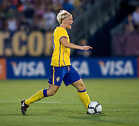 Nilla Fischer. The USWNT defeated Sweden, 3-0.