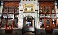 Nederland  Haarlem - 2020.  Station Haarlem. Wachtkamer eerste klasse. Jugendstil.   Foto : ANP/ HH / Berlinda van Dam