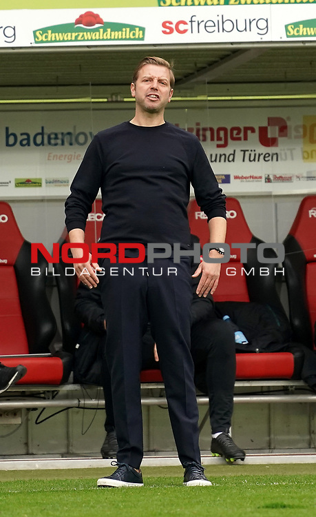 17.10.2020, Schwarzwald Stadion, Freiburg, GER, 1.FBL, SC Freiburg vs SV Werder Bremen<br /> <br /> im Bild / picture shows<br /> Trainer Florian Kohfeldt (Bremen)<br /> <br /> Foto © nordphoto / Bratic<br /> <br /> DFL REGULATIONS PROHIBIT ANY USE OF PHOTOGRAPHS AS IMAGE SEQUENCES AND/OR QUASI-VIDEO.