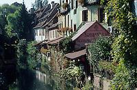 Europe/France/Alsace/68/Haut-Rhin/Colmar : La petite Venise