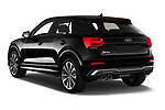 Car pictures of rear three quarter view of a 2019 Audi SQ2 Base 5 Door SUV angular rear