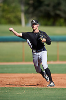 Chicago White Sox Zach Remillard (7) during an Instructional League game against the San Francisco Giants on October 10, 2016 at the Camelback Ranch Complex in Glendale, Arizona.  (Mike Janes/Four Seam Images)