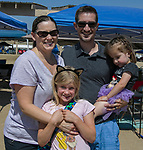 The Ferguson family during the Numaga Indian Days Pow Wow in Hungry Valley on Saturday, Sept. 1, 2018.