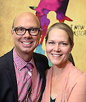 Richard Ridge and Rebecca Luker during the Rehearsal for the Kennedy Center Production of 'Little Dancer - A New Musical' at The New 42nd Street Studios on October 6, 2014 in New York City.