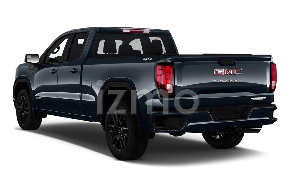 Car pictures of rear three quarter view of 2019 GMC Sierra-1500 Elevation 4 Door Pickup Angular Rear