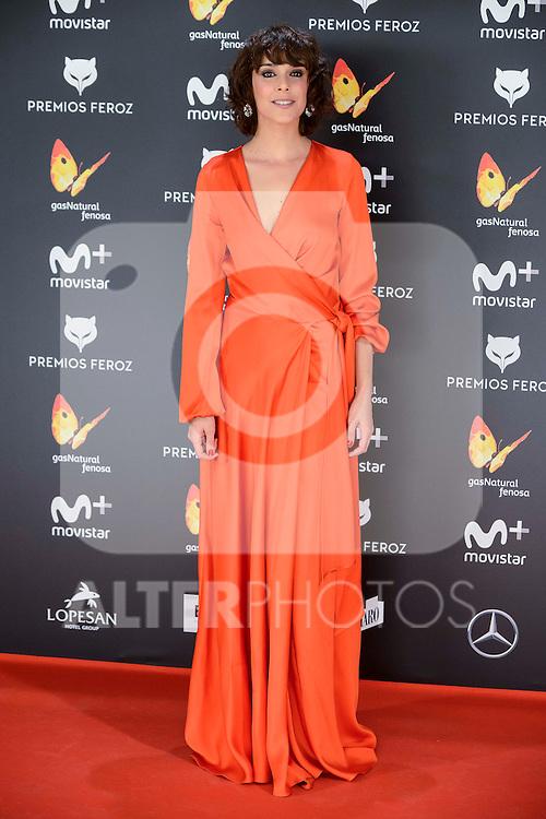 Belen Cuesta attends to the Feroz Awards 2017 in Madrid, Spain. January 23, 2017. (ALTERPHOTOS/BorjaB.Hojas)