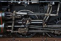 Europe/France/Aquitaine/33/Gironde/Soulac-sur-Mer: Lors de Soulac 1900 détail du train à vapeur
