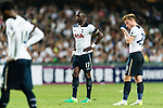 Tottenham Hotspur Midfielder Moussa Sissoko (C) in action during the Friendly match between Kitchee SC and Tottenham Hotspur FC at Hong Kong Stadium on May 26, 2017 in So Kon Po, Hong Kong. Photo by Man yuen Li  / Power Sport Images