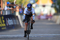9th September 2021; Trento, Trentino–Alto Adige, Italy: 2021 UEC Road European Cycling Championships, Womens Individual time trials:  DUYCK Ann-Sophie (BEL)