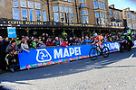 Annemiek Van Vleuten (NED) extends her lead on the second circuit of Harrogate during the Women Elite Road Race of the UCI World Championships 2019 running 149.4km from Bradford to Harrogate, England. 28th September 2019.<br /> Picture: Eoin Clarke | Cyclefile<br /> <br /> All photos usage must carry mandatory copyright credit (© Cyclefile | Eoin Clarke)
