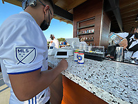 SAN JOSE, CA - AUGUST 17: Estrella Jalisco before a game between Minnesota United FC and San Jose Earthquakes at PayPal Park on August 17, 2021 in San Jose, California.