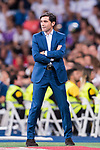 Coach Marcelino Garcia Toral of Valencia CF looks on during their La Liga 2017-18 match between Real Madrid and Valencia CF at the Estadio Santiago Bernabeu on 27 August 2017 in Madrid, Spain. Photo by Diego Gonzalez / Power Sport Images