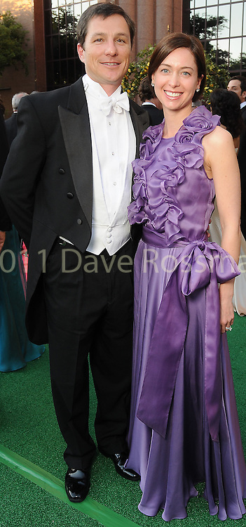 Greg and Michelle Elliott at the Houston Grand Opera's Yellow Rose Ball at the Wortham Theater Saturday April 10,2010. (Dave Rossman Photo)