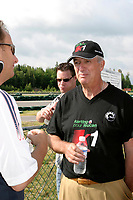 June 15 2004, Montreal (Quebec) CANADA<br /> take part in  karting event to benefit LEUCAN, near Montreal, June 15 2004<br /> Photo (c) 2004, Pierre Roussel / Images Distribution