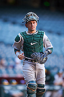 Oakland Athletics Skyler Weber (22) during an Instructional League game against the Arizona Diamondbacks on October 15, 2016 at Chase Field in Phoenix, Arizona.  (Mike Janes/Four Seam Images)