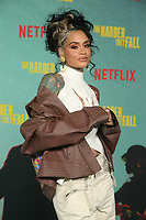 LOS ANGELES, CA - OCTOBER 13: Kehlani at the Special Screening Of The Harder They Fall at The Shrine in Los Angeles, California on October 13, 2021. Credit: Faye Sadou/MediaPunch