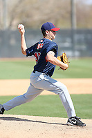 Chris Jones, Cleveland Indians 2010 minor league spring training..Photo by:  Bill Mitchell/Four Seam Images.