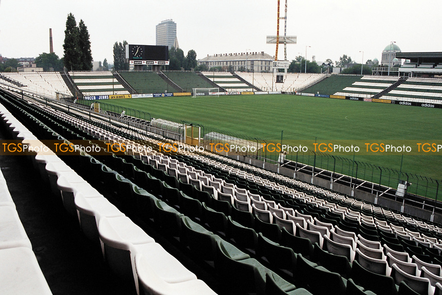 General view of Ulloi Uti Stadium, home of Ferencvarosi TC Football Club