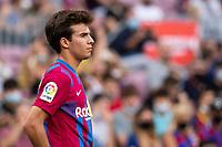 26th September 2021;   Nou Camp, Barcelona, Spain: La Liga football, FC Barcelona versus Levante: Riqui Puig Barcelona player