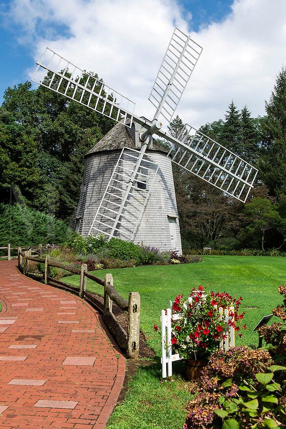 Windmill Garden, Heritage Museums and Gardens, Sandwich, Massachusetts, USA