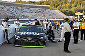 Monster Energy NASCAR Cup Series<br /> ISM Connect 300<br /> New Hampshire Motor Speedway<br /> Loudon, NH USA<br /> Sunday 24 September 2017<br /> Cars inpounded following the race<br /> World Copyright: Nigel Kinrade<br /> LAT Images
