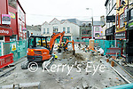 Roadworks at Bridge street, Tralee on Wednesday.