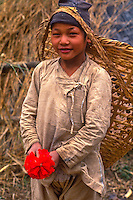 Child at play, Eastern Nepal.