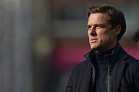 Scott Parker manager of Fulham during the Premier League behind closed doors match between Crystal Palace and Fulham at Selhurst Park, London, England on 28 February 2021. Photo by Vince Mignott / PRiME Media Images.