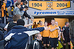 Hull City 3 Preston North End 0, 10/11/2007. KC Stadium, Championship. Hull captain Ian Ashbee shuns the attention of his adoring public. Photo by Paul Thompson. Hull finished 3rd and were promoted to the Premier League after beating Watford in the play semi final, and Bristol City in the final. Preston finished 15th.