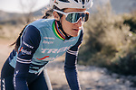 Elizabeth Deignan (ENG) part of the Trek–Segafredo 2021 womens team during their winter training camp. 18th January 2021.<br /> Picture: Jojo Harper/Trek Factory Racing | Cyclefile<br /> <br /> All photos usage must carry mandatory copyright credit (© Cyclefile | Jojo Harper/Trek Factory Racing)