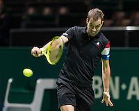 ABN AMRO World Tennis Tournament, Rotterdam, The Netherlands, 15 Februari, 2017, Richard Gasquet (FRA)<br /> Photo: Henk Koster