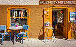 Deutschland, Bayern, Schwaben, Oberallgaeu, Bad Hindelang im Ostrachtal: kleiner Kaufladen im Ortszentrum | Germany, Bavaria, Swabia, Upper Allgaeu, resort Bad Hindelang in Ostrach Valley: little shop in village centre