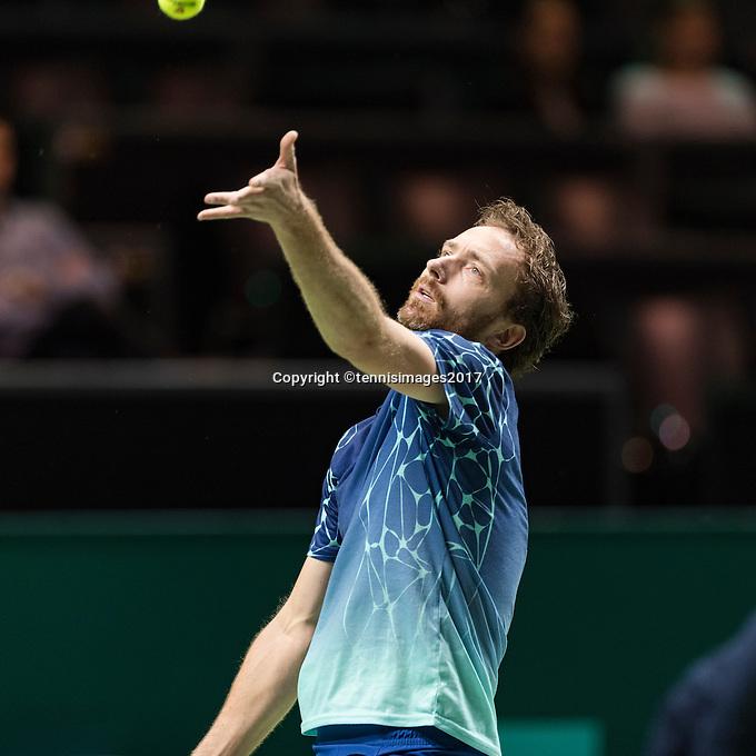 ABN AMRO World Tennis Tournament, Rotterdam, The Netherlands, 18 Februari, 2017, Matwe Middelkoop (NED)<br /> Photo: Henk Koster