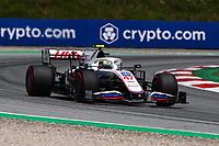 July 3rd 2021; F1 Grand Prix of Austria, qualifying sessions;   Formula 1 Austria Gran Prix 2021 Mick Schumacher of Haas F1 Team on track  Red Bull Ring Austria