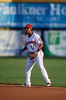 Harrisburg Senators second baseman Osvaldo Abreu (11) during a game against the Erie SeaWolves on August 29, 2018 at FNB Field in Harrisburg, Pennsylvania.  Harrisburg defeated Erie 5-4.  (Mike Janes/Four Seam Images)