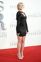 "Jorgie Porter<br /> at the ""Fifty Shades Darker"" premiere, Odeon Leicester Square, London.<br /> <br /> <br /> ©Ash Knotek  D3223  09/02/2017"