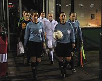Netherlands U17 - Belgium U17 : Referee..Marta Frias Acedo (ESP).Assistant referees..Rocio Puente Pino (ESP), Rebecca Welch (ENG).foto Joke Vuylsteke / Vrouwenteam.be