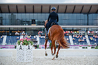AUS-Andrew Hoy rides Vassily de Lassos during the Eventing Dressage Team and Individual Day 2 - Session 3. Tokyo 2020 Olympic Games. Saturday 31 July 2021. Copyright Photo: Libby Law Photography