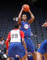 Rodney Hood at the NBPA Top100 camp at the John Paul Jones Arena Charlottesville, VA. Visit www.nbpatop100.blogspot.com for more photos. (Photo © Andrew Shurtleff)