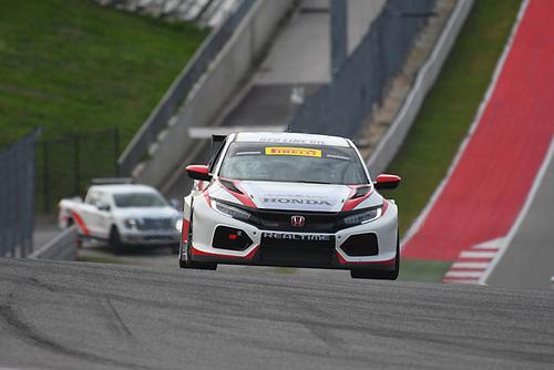 RealTime Racing Honda Civic Type-R TCR: Nick Esayian