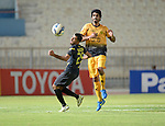 Qadsia SC vs Arbil during the 2015 AFC Cup 2015 Group C match on May 13, 2015 at the  Kuwait S.C. Stadium in Kuwait City, Kuwait. Photo by Adnan Hajj / World Sport Group