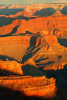 Morning at Yavapai Point, Grand Canyon National Park, Arizona.