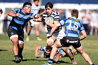 Levi Turoa of Otago Boys, during the 1st XV South Island Final rugby match between Otago Boys High School 1st XV and Nelson College 1st XV at Littlebourne in Dunedin, New Zealand on Saturday, 31 August 2019. Photo: Joe Allison / lintottphoto.co.nz