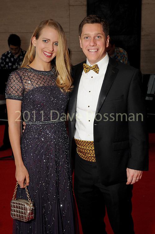 "Christine and Jonathan Cohen at the 2016 Houston Symphony Gala ""Carnaval"" at Jones Hall Saturday May 14,2016(Dave Rossman Photo)"