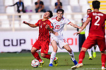 Sardar Azmoun of Iran (R) competes for the ball with B T Dung of Vietnam (L) during the AFC Asian Cup UAE 2019 Group D match between Vietnam (VIE) and I.R. Iran (IRN) at Al Nahyan Stadium on 12 January 2019 in Abu Dhabi, United Arab Emirates. Photo by Marcio Rodrigo Machado / Power Sport Images