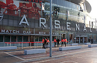 General View of the Emirates stadium - Arsenal vs Blackburn Rovers - Barclays Premier League Football at the Emirates Stadium, London - 04/02/2012 - MANDATORY CREDIT: Martin Dalton/TGSPHOTO - Self billing applies where appropriate - 0845 094 6026 - contact@tgsphoto.co.uk - NO UNPAID USE.