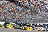 NASCAR Camping World Truck Series<br /> Bar Harbor 200<br /> Dover International Speedway, Dover, DE USA<br /> Friday 2 June 2017<br /> Matt Crafton, Ideal Door / Menards Toyota Tundra and Justin Haley, Fraternal Order of Eagles Chevrolet Silverado<br /> World Copyright: Nigel Kinrade<br /> LAT Images<br /> ref: Digital Image 17DOV1nk05309