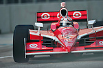 Scott Dixon (NZL), in his Target Chip Ganassi Racing car, during practice for the Baltimore Grand Prix in Baltimore, Maryland on September 3, 2011
